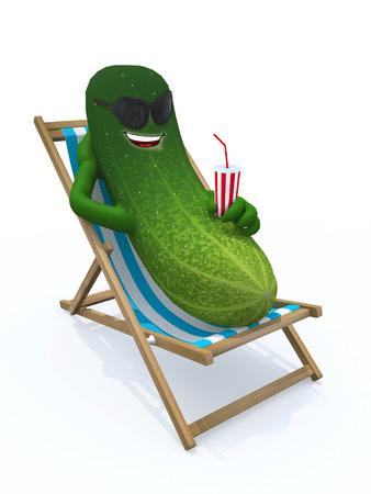Komkommer, een bron van water of bevat hij ook nog gezonde stofjes?